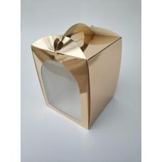 """Коробка для пасхи """"Золото"""", 170*170*210"""
