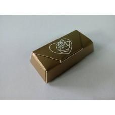 "Коробка для конфет ""Роза в сердце"". Размер 73*35*15"