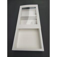 Коробка для эклеров с окошком, 240*150*42