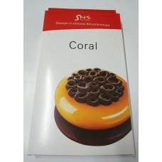 """Силиконовый молд """"Coral"""", 135*15"""