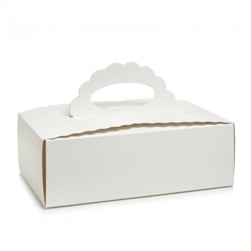 Коробка для мусса, пирожного, кекса, 210*110*70 мм