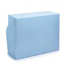 "Коробка на 6 капкейков ""Голубая"", 240*180*90"