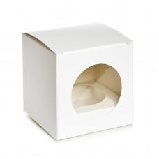 "Коробка для капкейка ""Круглое окно"", 90*90*90"