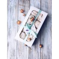 Картонная упаковка для макарон на 12 шт. Размер 200*100*50