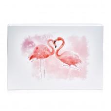 """Коробка подарочная """"Розовый фламинго"""", 200*300*35 мм"""