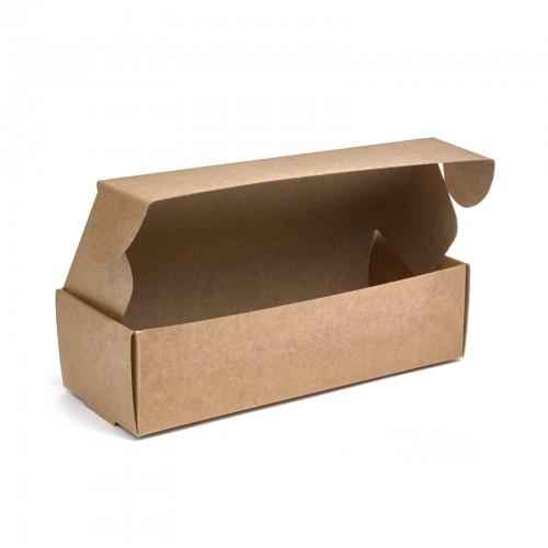 "Коробка на 5 макаронс ""Крафт"", 140*57*38"