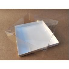"""Коробка """"Аквариум"""" для калача, 250*250*70"""