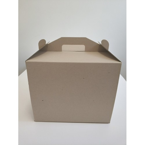 "Коробка для торта ""Бура-бурая"", 300*300*250"