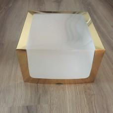 """Коробка для торта """"Золото"""", 250*250*150"""