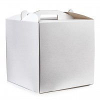 Коробка для торта Lovepak из микрогофры, размер  250*250*150