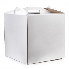 Коробка для торта Lovepak из микрогофры,размер 300*300*250