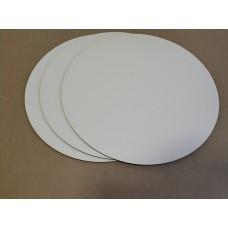 Подложка ХДВ ламинированная, диаметр 90 мм