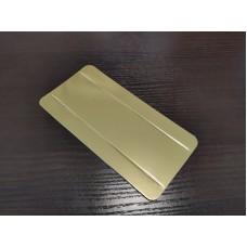 Подложка для эклера золотая, 140*40*15