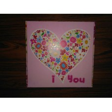 "Коробка ""I love you"", 150*150*50"