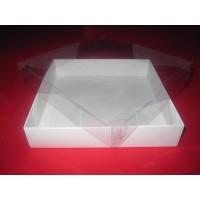 Картонная коробка для пряников, сувениров, бижутерии. Размер 150*150*30