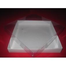 Картонная коробка для пряников, сувениров, бижутерии. Размер 200*200*30