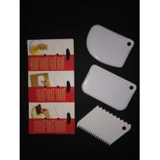 Набор шпателей (3 шт) для мастики.