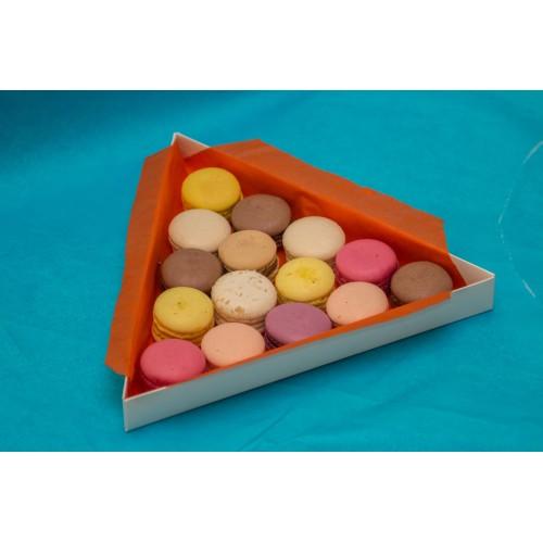 Коробка для макарон, пряников, бижутерии. Размер 260*260*30