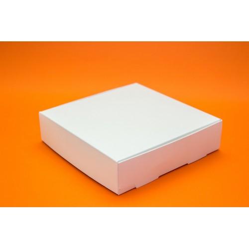 Коробка для макарон на 24 шт без окошка. Размер 200*200*50
