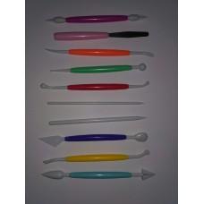 Набор ножей для мастики.